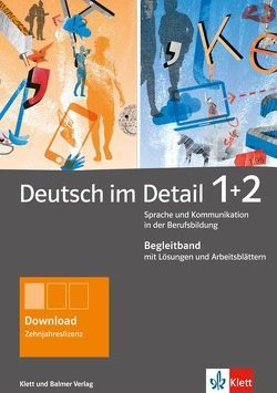 Deutsch im Detail 1 und 2 von Gsteiger,  Markus, Schweizer,  Andrea