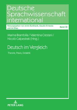 Deutsch im Vergleich von Brambilla,  Marina, Calpestrati,  Nicolò, Crestani,  Valentina