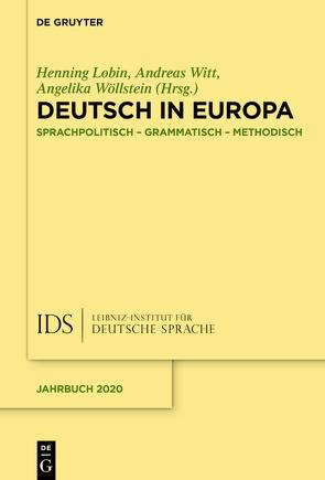 Deutsch in Europa von Lobin,  Henning, Witt,  Andreas, Wöllstein,  Angelika