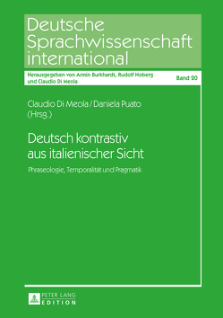 Deutsch kontrastiv aus italienischer Sicht von Di Meola,  Claudio, Puato,  Daniela