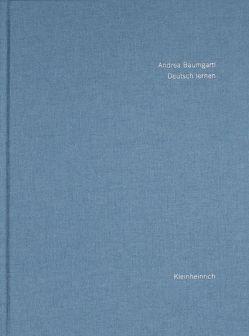 Deutsch lernen von Baumgartl,  Andrea