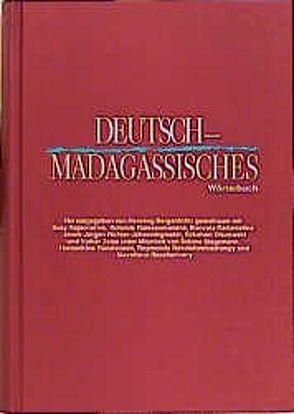 Deutsch-Madagassisches Wörterbuch von Bergenholtz,  Henning