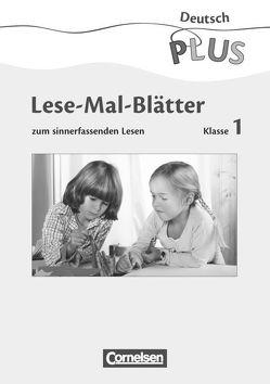 Deutsch plus – Grundschule – Lesetraining / Lese-Mal-Blätter von Metze,  Wilfried