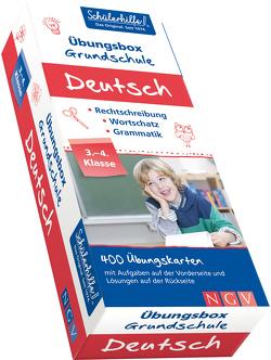 Deutsch Übungsbox Grundschule, 3. + 4. Klasse von Scheller,  Anne