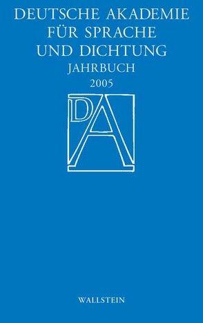 Deutsche Akademie für Sprache und Dichtung. Jahrbuch