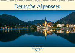 Deutsche Alpenseen – Berge im Spiegel (Wandkalender 2019 DIN A2 quer) von Wasilewski,  Martin