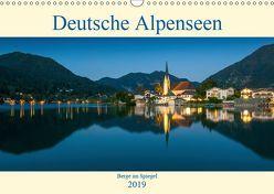Deutsche Alpenseen – Berge im Spiegel (Wandkalender 2019 DIN A3 quer) von Wasilewski,  Martin
