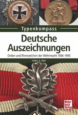 Deutsche Auszeichnungen von Behr,  Volker A.