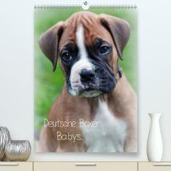 Deutsche Boxer Babys… (Premium, hochwertiger DIN A2 Wandkalender 2020, Kunstdruck in Hochglanz) von Schwalm Böttcher,  Nicole