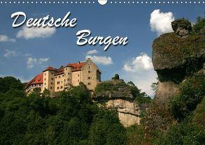 Deutsche Burgen (Wandkalender 2018 DIN A3 quer) von Berg,  Martina