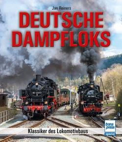 Deutsche Dampfloks auf Normal- und Schmalspurgleisen von Reiners,  Jan