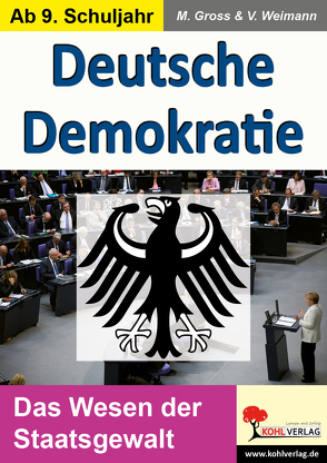 Deutsche Demokratie von Gross,  Manuel, Weimann,  Viktoria
