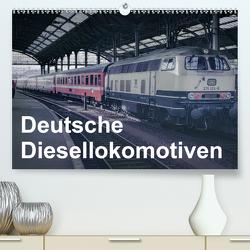 Deutsche Diesellokomotiven (Premium, hochwertiger DIN A2 Wandkalender 2020, Kunstdruck in Hochglanz) von Schulz-Dostal,  Michael