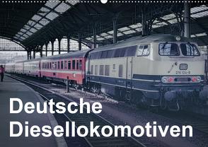 Deutsche Diesellokomotiven (Wandkalender 2020 DIN A2 quer) von Schulz-Dostal,  Michael
