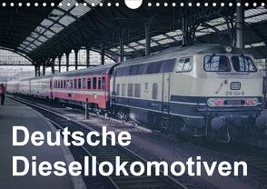Deutsche Diesellokomotiven (Wandkalender 2020 DIN A4 quer) von Schulz-Dostal,  Michael