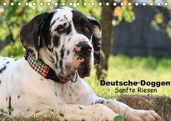 Deutsche Doggen – Sanfte Riesen (Tischkalender 2018 DIN A5 quer) von Reiß-Seibert,  Marion