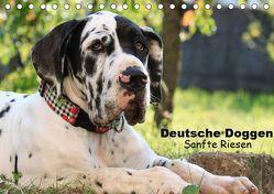 Deutsche Doggen – Sanfte Riesen (Tischkalender 2019 DIN A5 quer) von Reiß-Seibert,  Marion