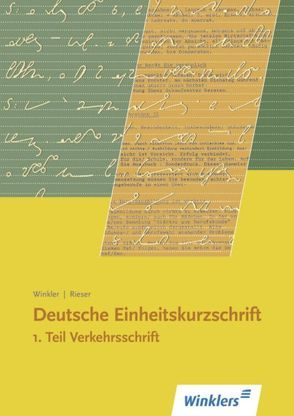 Deutsche Einheitskurzschrift von Rieser, Winkler