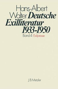 Deutsche Exilliteratur 1933-1950 von Walter,  Hans-Albert