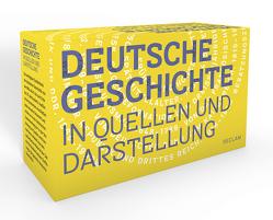 Deutsche Geschichte in Quellen und Darstellung von Müller,  Rainer A
