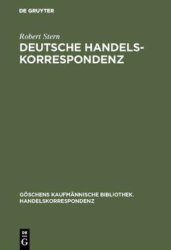 Deutsche Handelskorrespondenz von Stern,  Robert