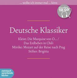 Deutsche Klassiker von Beilharz,  Norbert, Fischer,  Andreas, Kleist,  Heinrich von, Mörike,  Eduard, Reinhard,  Regina, Stifter,  Adalbert