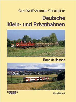 Deutsche Klein- und Privatbahnen von Wolff,  Gerd