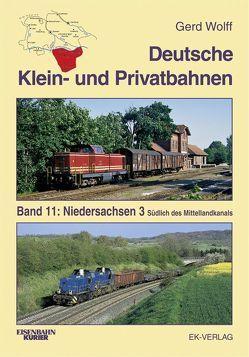Deutsche Klein- und Privatbahnen / Niedersachsen 3 von Wolff,  Gerd