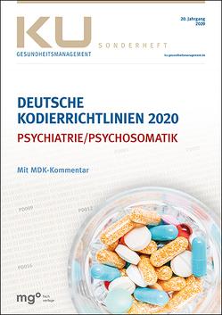 Deutsche Kodierrichtlinien für die Psychiatrie/Psychosomatik 2020 mit MDK-Kommentar von InEK gGmbH