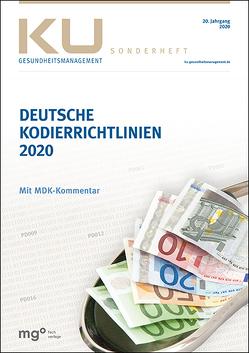 Deutsche Kodierrichtlinien mit MDK-Kommentierung 2020 von InEK Institut für das Entgeltsystem im Krankenhaus GmbH