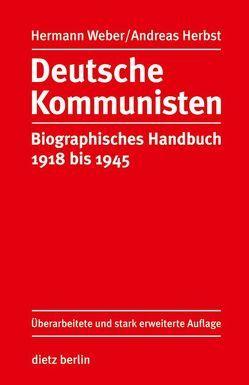 Deutsche Kommunisten von Herbst,  Andreas, Weber,  Hermann
