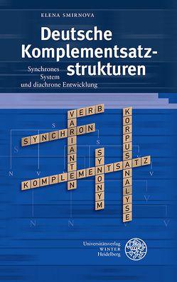 Deutsche Komplementsatzstrukturen von Smirnova, Elena