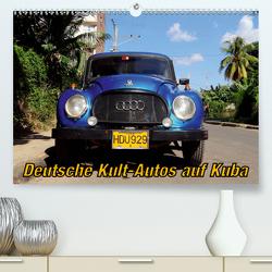 Deutsche Kult-Autos auf Kuba (Premium, hochwertiger DIN A2 Wandkalender 2020, Kunstdruck in Hochglanz) von von Loewis of Menar,  Henning