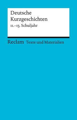 Deutsche Kurzgeschichten von Ulrich,  Winfried