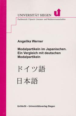 Deutsche Modalpartikeln im Kontrast zum Japanischen – im Rahmen eines Wortartensystemvergleichs von Werner,  Angelika