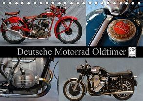 Deutsche Motorrad Oldtimer (Tischkalender 2018 DIN A5 quer) von Laue,  Ingo