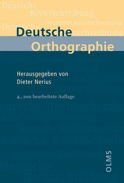 Deutsche Orthographie von Nerius,  Dieter