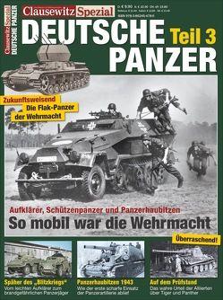 Deutsche Panzer Teil 3 von Krüger,  Stefan