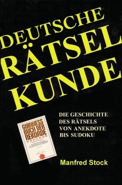 Deutsche Rätselkunde von Stock,  Manfred