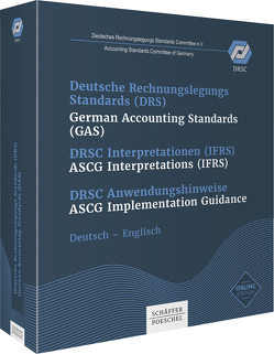 Deutsche Rechnungslegungs Standards (DRS) , German Accounting Standards (GAS) # DRSC Interpretationen (IFRS) , ASCG Interpretations plus Onlinezugang von Accounting Standards Committee of Germany,  Deutsches Rechnungslegungs Standards Committee