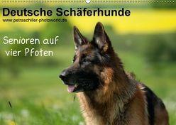 Deutsche Schäferhunde – Senioren auf vier Pfoten (Wandkalender 2018 DIN A2 quer) von Schiller,  Petra