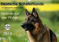 Deutsche Schäferhunde – Senioren auf vier Pfoten (Wandkalender 2019 DIN A3 quer) von Schiller,  Petra