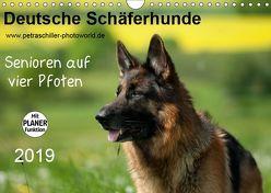 Deutsche Schäferhunde – Senioren auf vier Pfoten (Wandkalender 2019 DIN A4 quer) von Schiller,  Petra