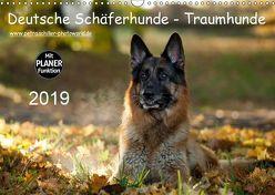 Deutsche Schäferhunde – Traumhunde (Wandkalender 2019 DIN A3 quer) von Schiller,  Petra
