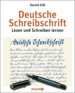 Deutsche Schreibschrift von Süß,  Harald