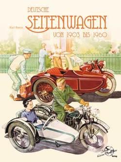 Deutsche Seitenwagen von 1903 bis 1960 von Reese,  Karl