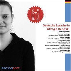 Deutsche Sprache in Alltag & Beruf A1 (Anfänger) von ADMOVI GmbH
