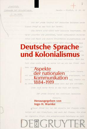 Deutsche Sprache und Kolonialismus von Warnke,  Ingo H.