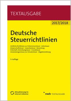Deutsche Steuerrichtlinien von NWB Gesetzesredaktion