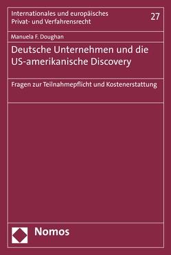 Deutsche Unternehmen und die US-amerikanische Discovery von Doughan,  Manuela F.